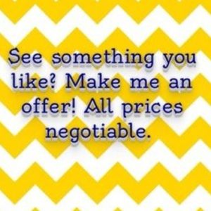 All reasonable offers will be considered!