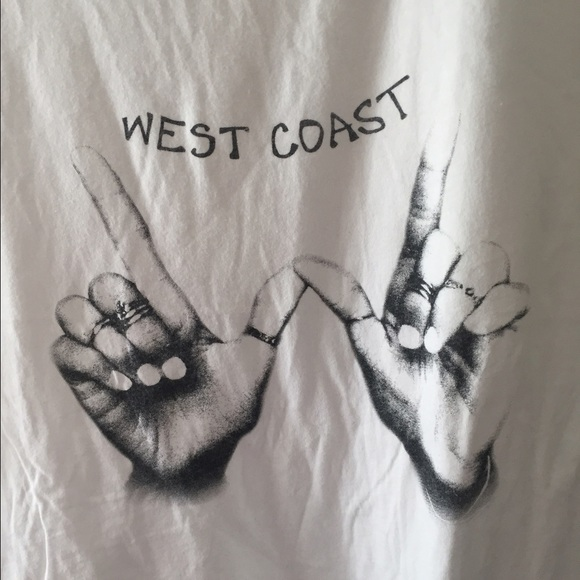 West Coast Hand Sign