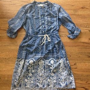 Anthropologie shirtdress