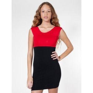 American Apparel Dresses & Skirts - American Apparel Stretch Colorblock Mini Dress
