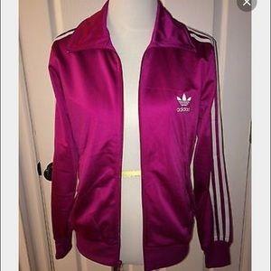 NWOT Adidas Originals Firebird track jacket pink