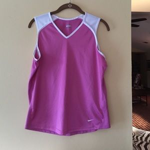Nike Sleeveless Workout shirt