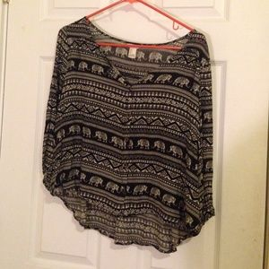 MAKE OFFER F21 Elephant top