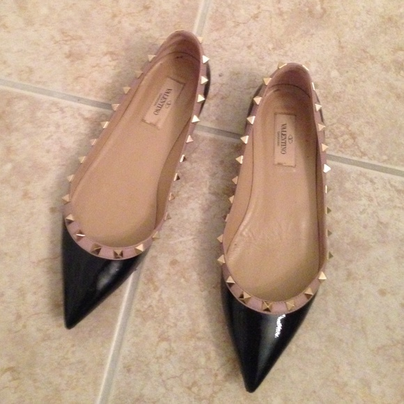 reliable for sale discount marketable Valentino Patent Leather Tan-Go Flats w/ Tags very cheap price clearance visit R60YnFTF