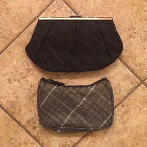 Banana Republic clutch/makeup bags