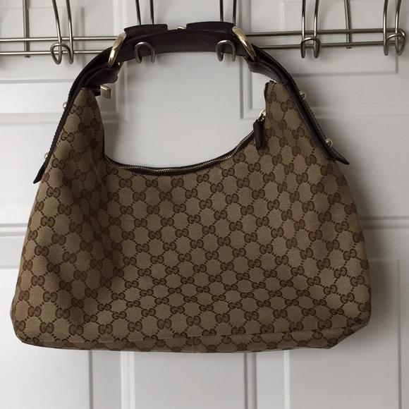 48 Off Gucci Handbags Gucci Horsebit Hobo Bag 100