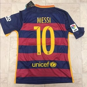 a0b330a46 Nike Other - 2015 2016 Barcelona home men s jersey with Messi