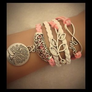 Jewelry - Light pink hope bracelet