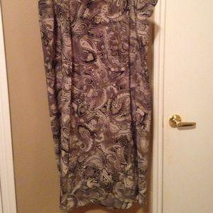 August max Dresses & Skirts - Dressy long skirt