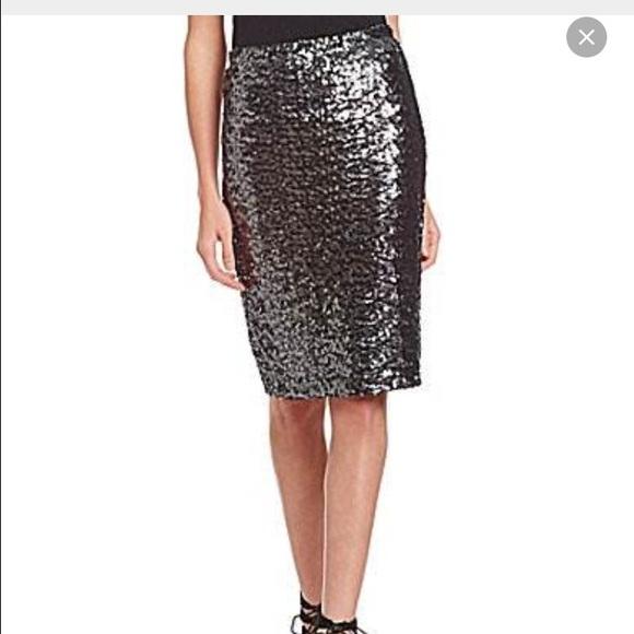 59 bb dakota dresses skirts silver sequin pencil