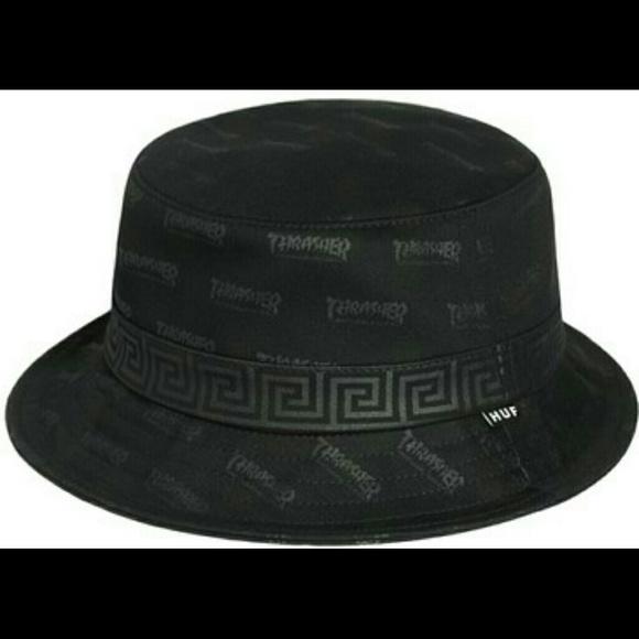 71858058903 HUF X Thrasher bucket hat