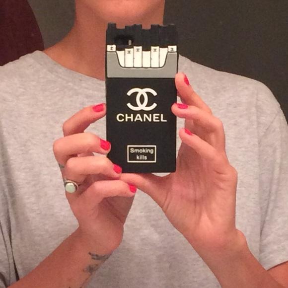 online store 0d2ef 2369a Chanel cigarette iPhone case