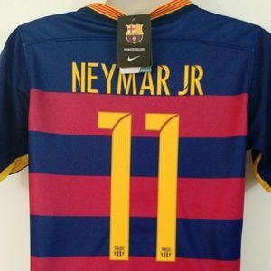 Nike Tops - Neymar Jr 11 Barcelona Jersey Kit