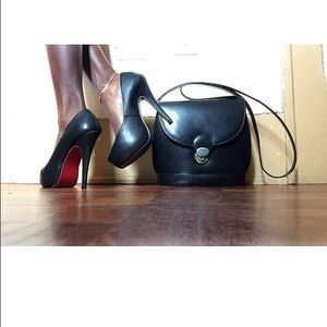 70% off Shoes - ??MAKE OFFERS! Black Red Bottom Mary Jane Heels ...