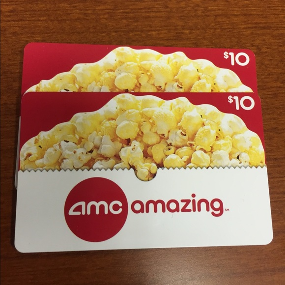50% off Other - 2 $10 AMC gift cards from Jennifer's closet on ...