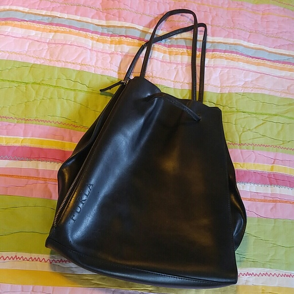 Furla Handbags - Furla leather backpack or rucksack efe8a7ed18213
