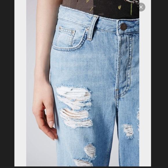 45% off Topshop Denim - Topshop tall Boyfriend jeans from Rachel's ...