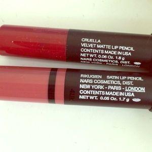 Nars matte/ satin lip pencil (2)