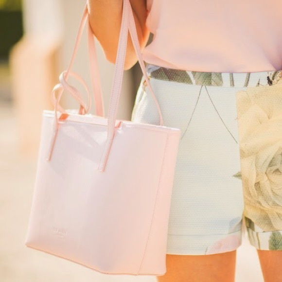 73% off Ted Baker Handbags - TED BAKER pastel pink handbag from ...