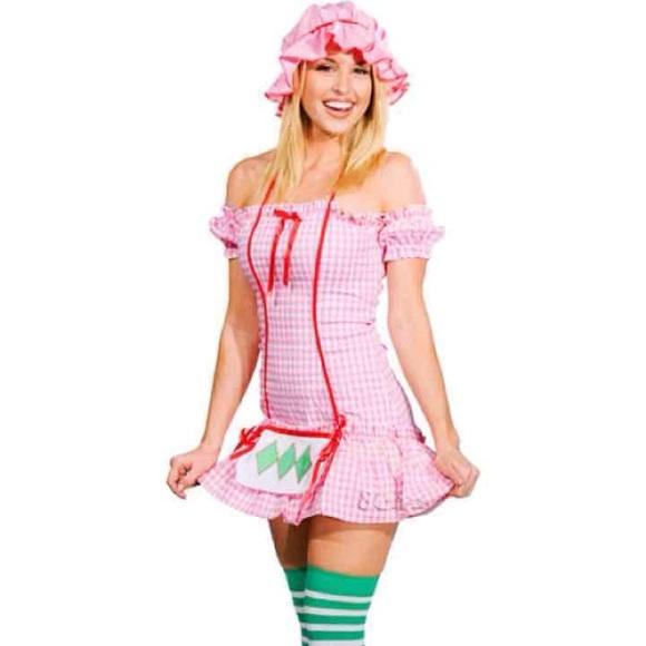 M/L M Strawberry shortcake costume