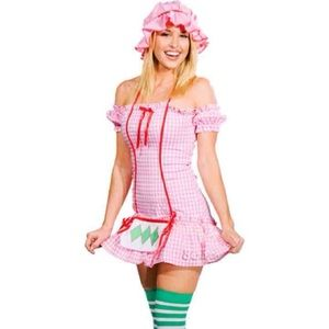 M/L M Strawberry shortcake costume