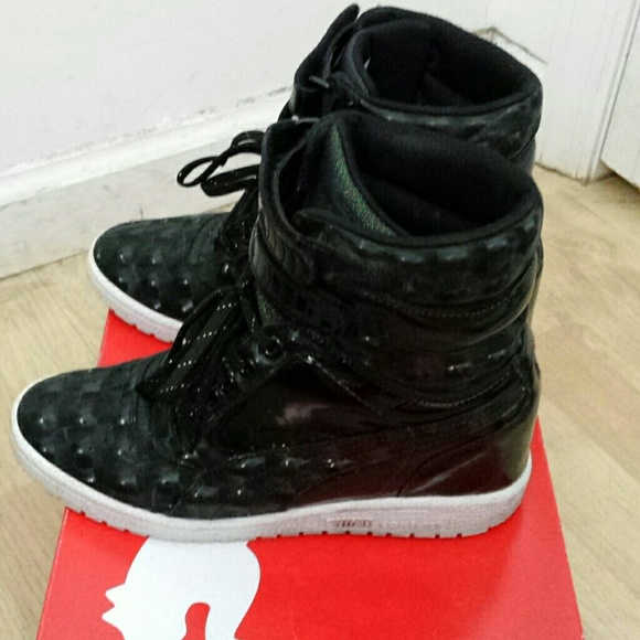 puma sneaker wedges on sale