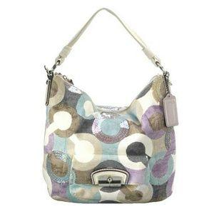 SALE!!  Coach Kristin graphic OP art purse