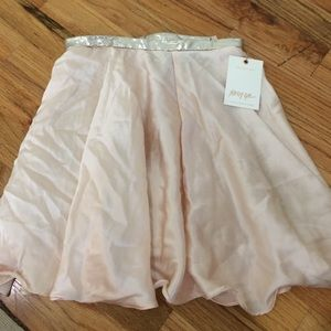 Nasty Gal holiday skater skirt never worn