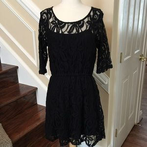 Love on a Hanger Dresses & Skirts - Short an Sassy! Black Lace Dress