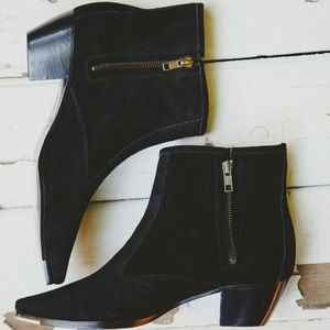 Boots - Suede leather boots