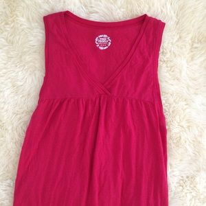 Free People Pink/Red Swimsuit Cover Up