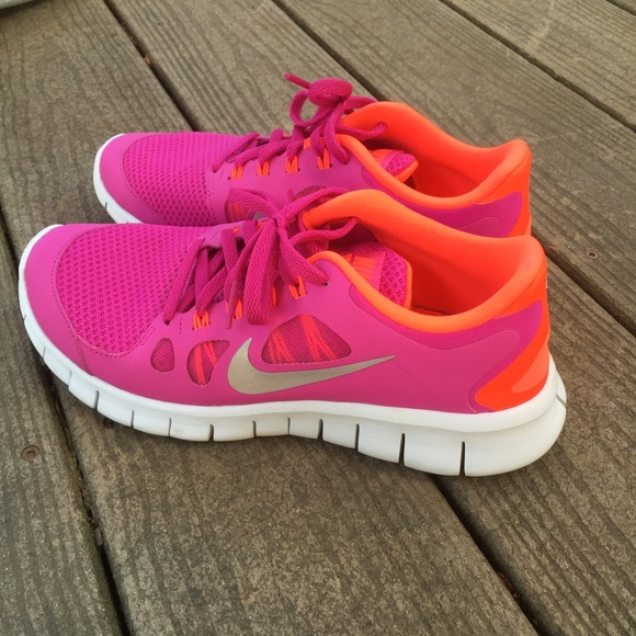 Nike Free 5.0 Girls Size 6 youth
