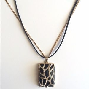 Grace Jewelry - NWT Long Bold Pendant Necklace