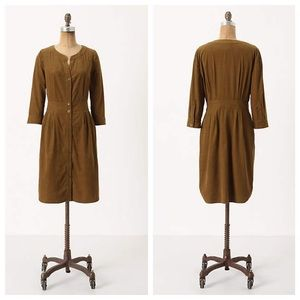 Anthropologie Anaheim Shirtdress, sz 4