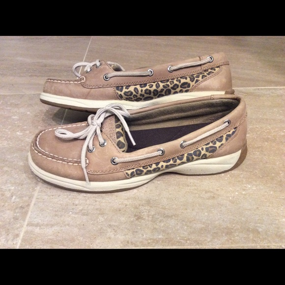 Sperry Shoes   Sperry Topsider Cheetah