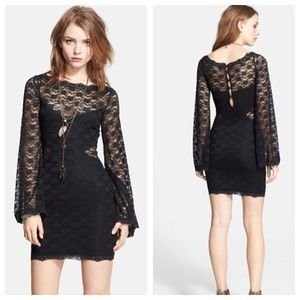 Free People Dresses & Skirts - Lovely in lace bodycon dress