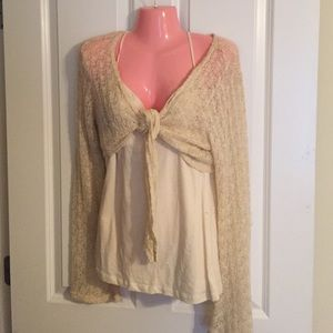 Tops - Sequin Tank and Shrug Set