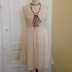 MINKPINK Dresses & Skirts - Sale! MinkPink Cream White Boho Dress