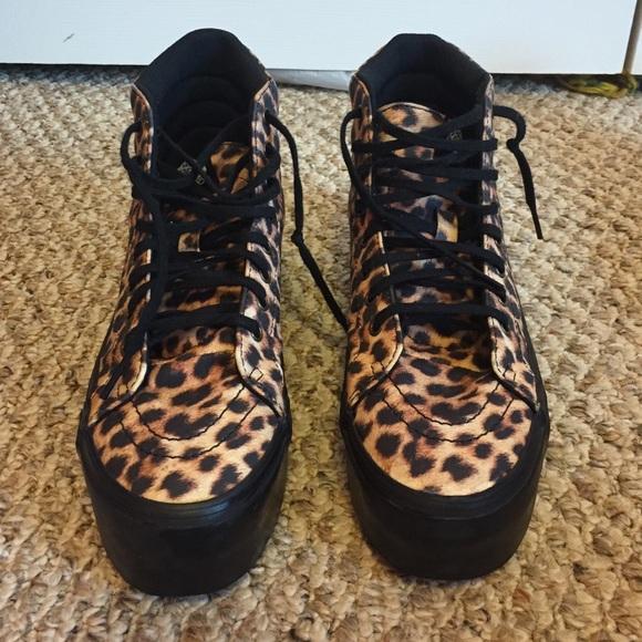 1a0d715182 Cheetah Print Platform Vans. M_55dce09841b4e03dca02ad2a