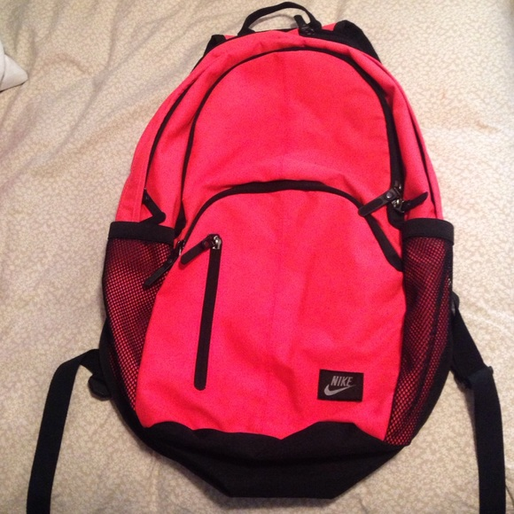 3b100c841c47 Nike neon pink orange backpack! M 55dce13c7eb29f254102a7bb