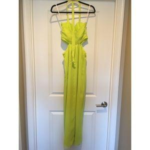 BCBGeneration Dresses - Neon cut-out Maxi Dress