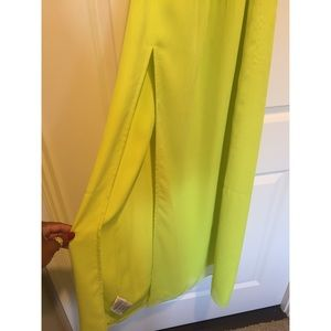 BCBGeneration Dresses - Neon cut-out Maxi Dress