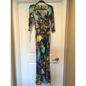 Dresses - Multi-color Maxi Dress