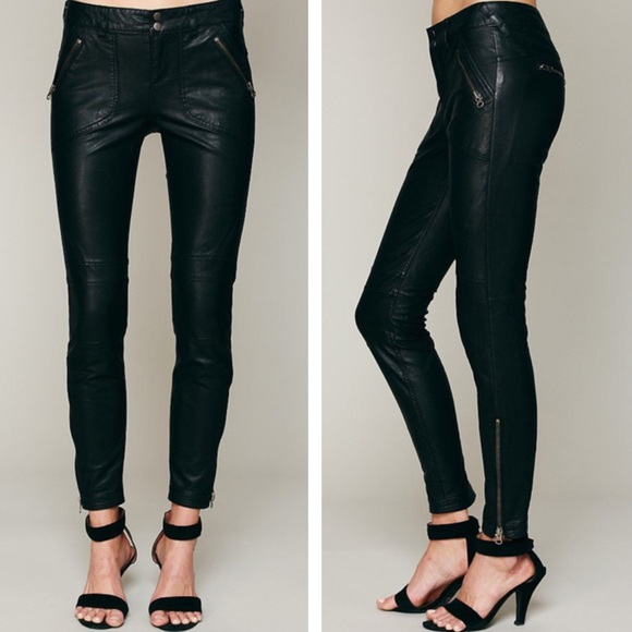 Free People Pants - Sale❗ Free People Pants Vegan Leather Moto Skinny 5be88031d660e
