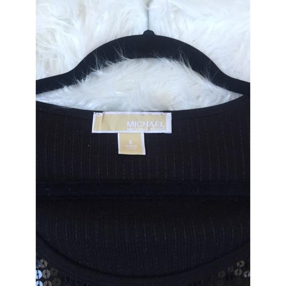 Michael Kors Tops - Sequin short sleeve shirt