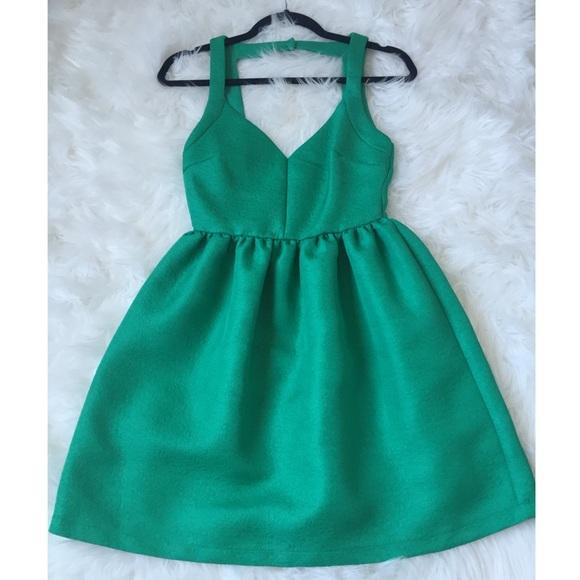 Zara Dresses - Green cocktail dress