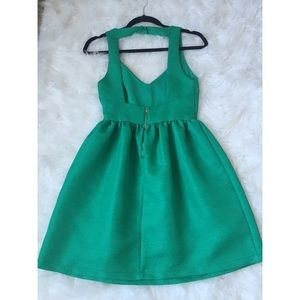 Zara Dresses - Green cocktail dress