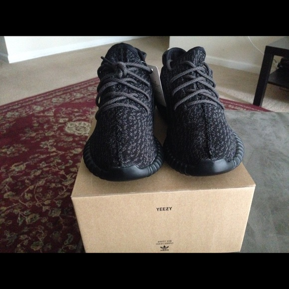 New PERFECT VERSION UA Yeezy 350 Boost Pirate Black with Big