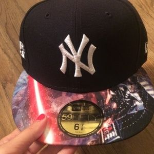 e08176d7bd Yankees Accessories - RARE Yankees Star Wars hat