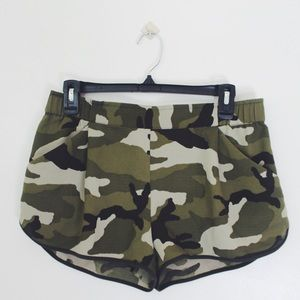 Urban Outfitters Pants - Camo dolphin shorts